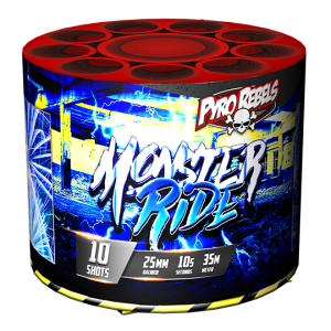 Monster Ride 10 shots - 123 gram