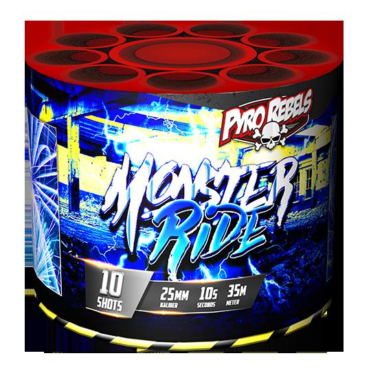 Monster Ride 10 shots - 123 gram