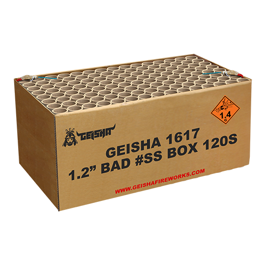 1.2″ Bad #ss Box 120 shots - 2500 gram