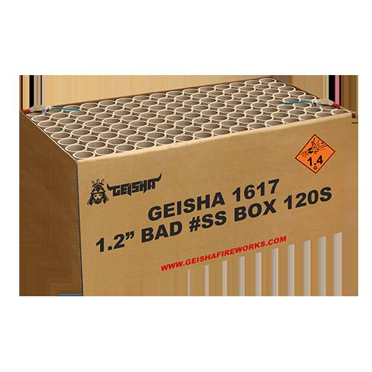 "1,2"" Bad #ss Box 120 shots - 2500 gram"