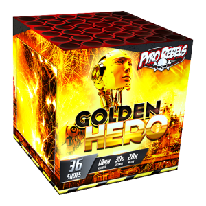 Golden Hero 36 shots - 200 gram