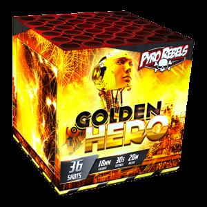Golden Hero 36 shots - 200 gram