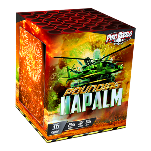Pounding Napalm 36 shots - 300 gram