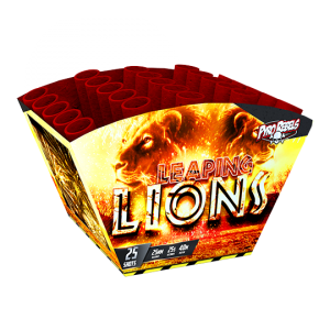 Leaping Lions 25 shots - 350 gram