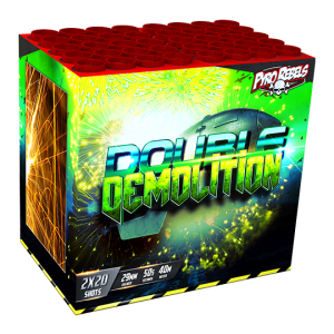 Double Demolition 40 shots - 1000 gram