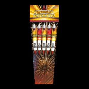 Serious Rockets 5 pijlen