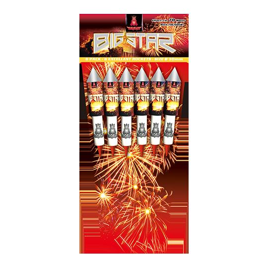 Big Star Rockets 6 pijlen