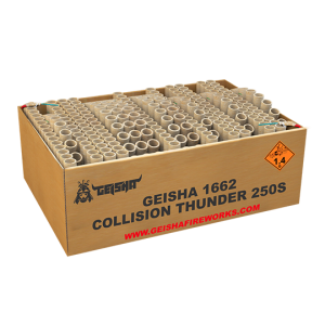 Collision Thunder 250 shots - 2992 gram