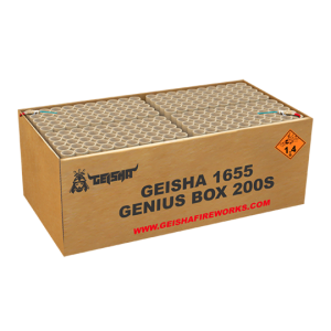 Genius Box 200 shots - 2000 gram