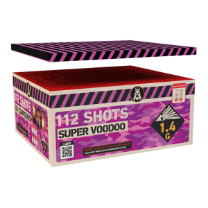 Super Voodoo Box 112 shots - 1150 gram