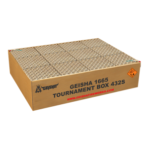 Tournament Box 432 shots - 5612 gram