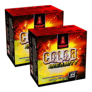 Aftershock Color Insanity 10 shots - 44 gram 2 stuks