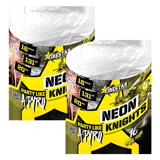 Neon Knights 16 shots - 262 gram 1+1 gratis