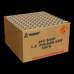 1.2″ Pulsar EXP ZFC8400 100 shots – G.W. 22.5KG