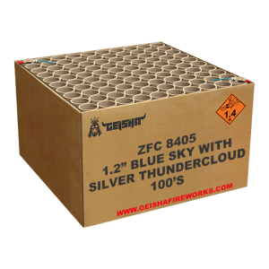 1.2″ Blue Sky With Silver Thundercloud ZFC8405 100 shots – G.W. 22.5KG