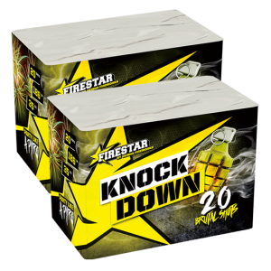 Knock Down 20 shots - 262 gram 1+1 gratis