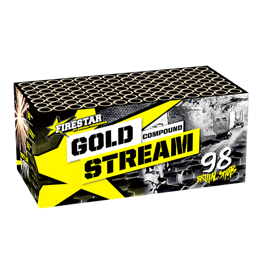 Gold Stream compound 98 shots - 1000 gram