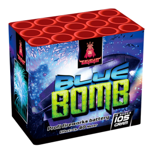 Blue Bomb 15 shots - 105 gram