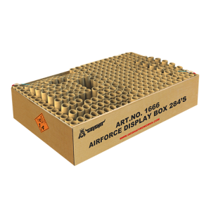 Airforce Display Box 284 shots ZFC1666 G.W. 26.5KG