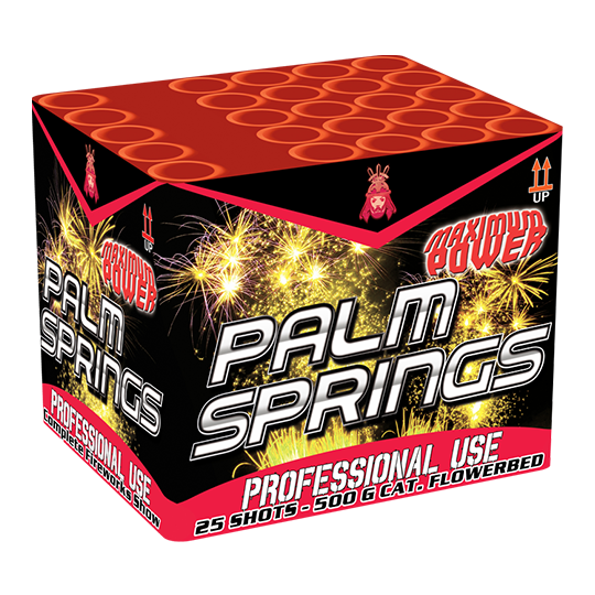 Palm Springs 25 shots - 365 gram