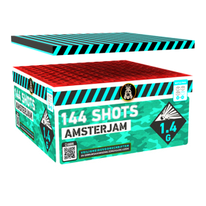 Amsterjam Compound Box 144 shots - 1100 gram