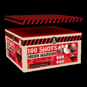 Neon Maroon Compound Box 111 shots