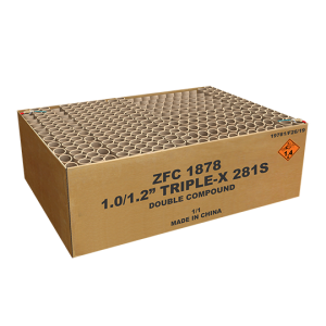 Triple X Limited Edition 281 shots ZFC1878 G.W. 33.5KG