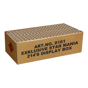 Exklusive Star Mania 214 shots Display box