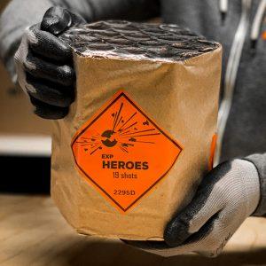 "1.0"" Heroes 19 shots EXP"