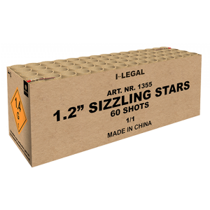"1.2"" Sizzling Stars Compound ZFC1355 G.W. 16.5KG"