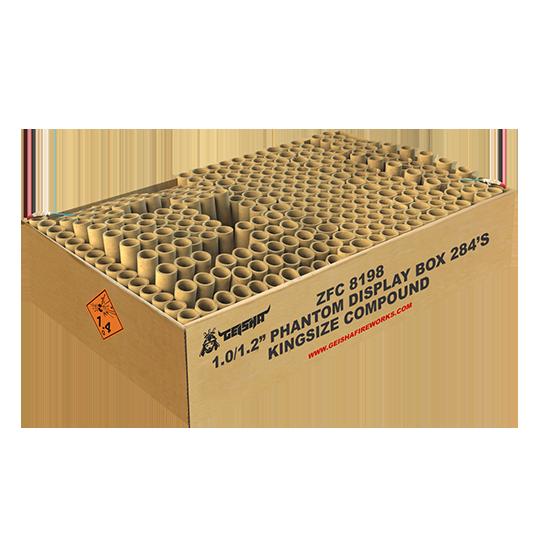 Phantom Display Box 284'S ZFC8198 G.W. 26.5KG